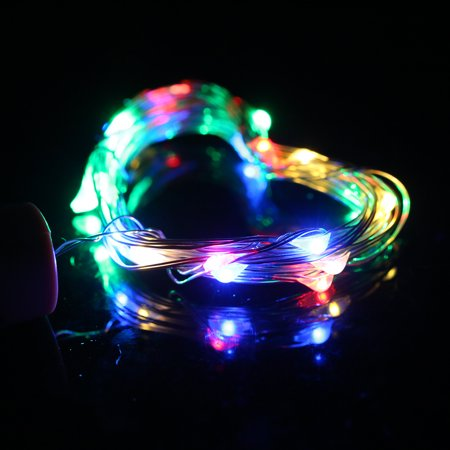 4.5V 0.9W 1.5Meters 15 LED Copper Wire Fairy String Light White Twistable Bendable Foldable Bottle Stopper Lamp IP65 Water Resistance for Christmas Xmas Holiday Festival DIY Home Party Decoration Pre - image 6 of 7