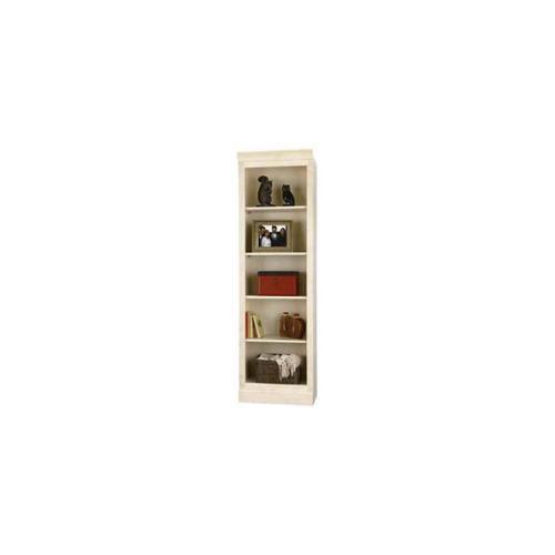 81.75 in. Center Book Case in Antique Vanilla by