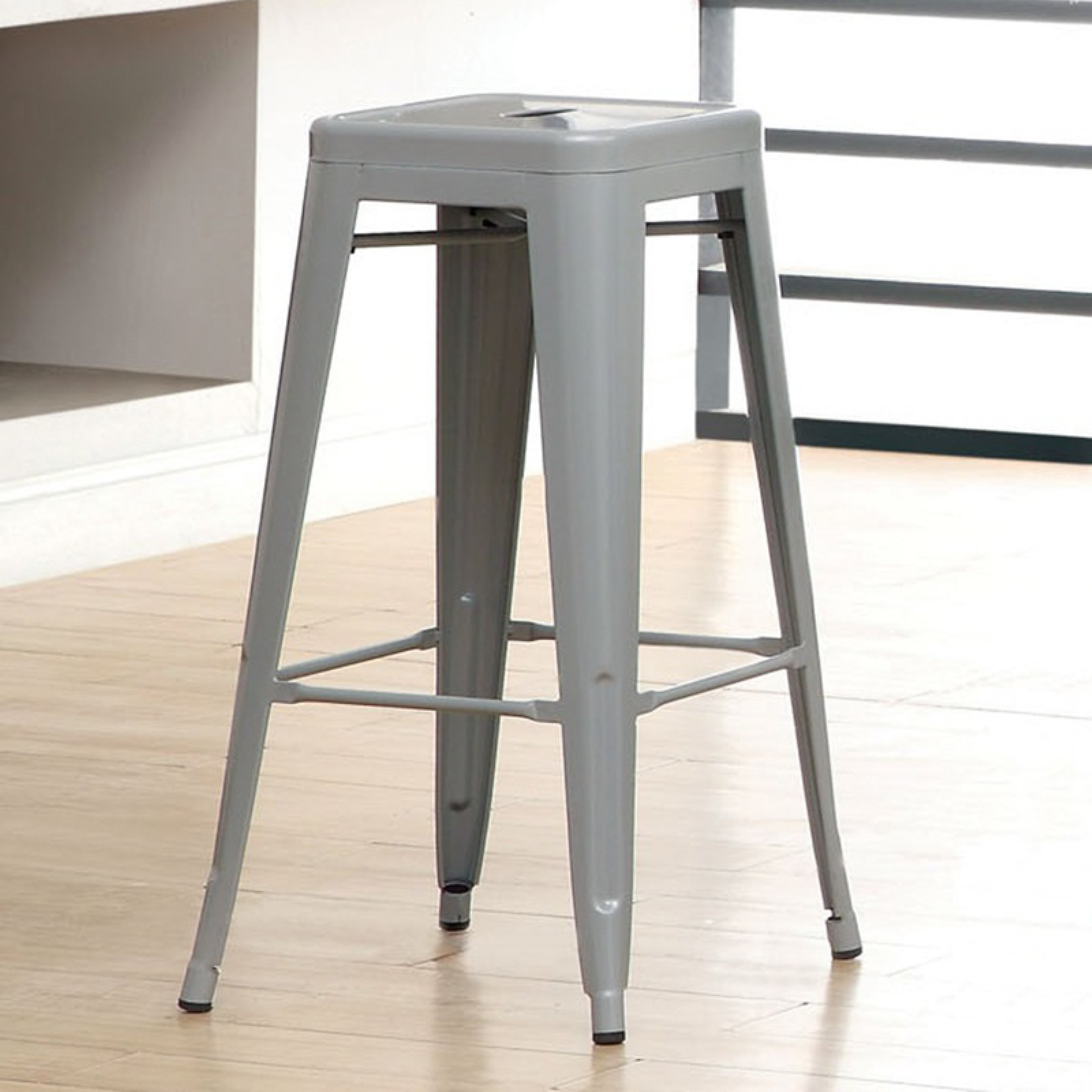 Furniture of America Stilletta Steel Stool