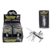 Diamond Visions Max Force 2221464 Multi-Function Pocket Knife with Keychain Clip (1 Knife)