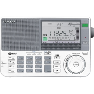 Click here to buy PORTABLE SHORTWAVE RECEIVER by SANGEAN-PERSONAL & PORTABLE.