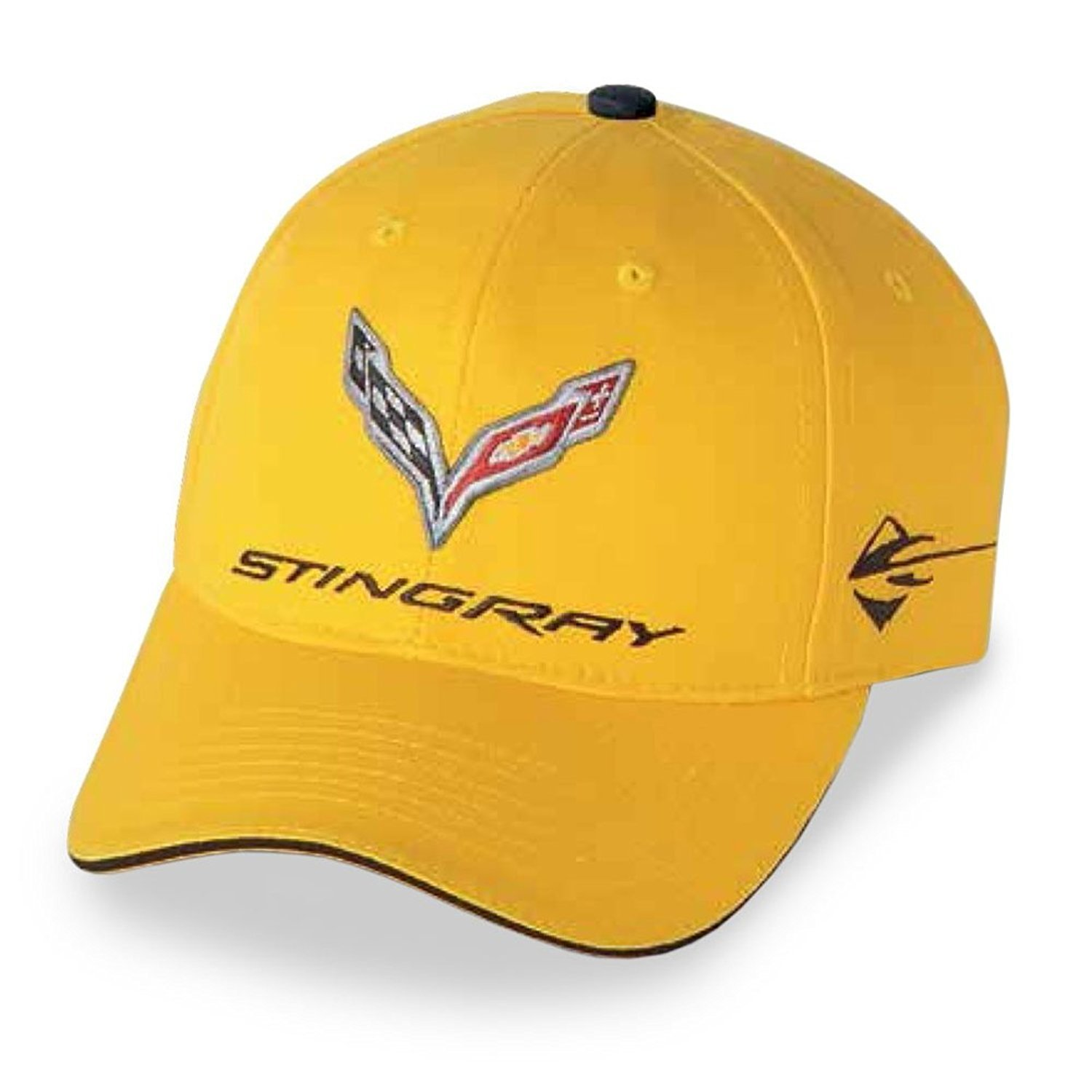 3568190ee577b C7 Corvette Stingray Car Color Matching Hat Cap - Embroidered (Laguna Blue)  - Walmart.com