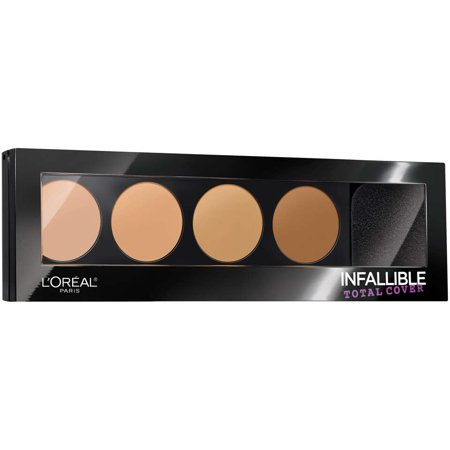 L'Oreal Paris Infallible Total Cover Concealing and Contour (Best Contour Kit For Brown Skin)