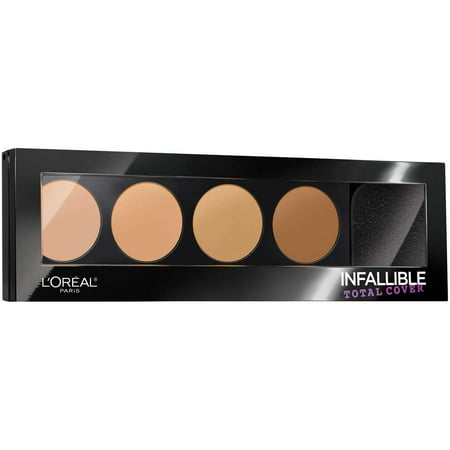 L'Oreal Paris Infallible Total Cover Concealing and Contour