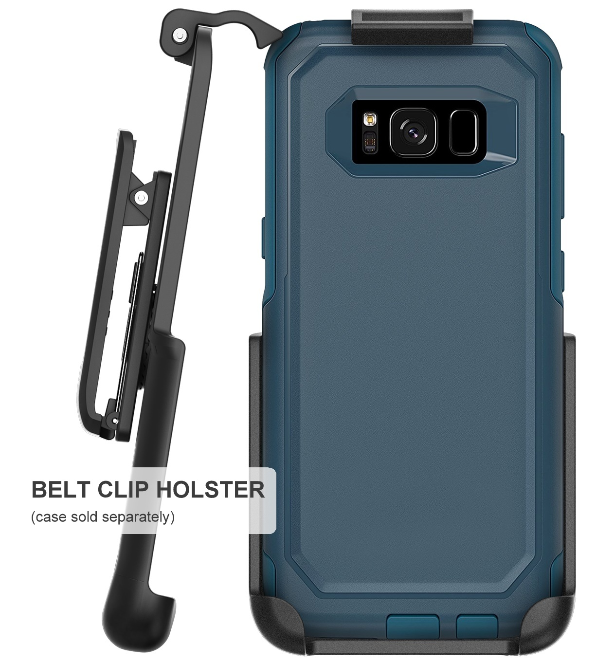 Belt Clip Holster for OtterBox Commuter Case - (By Encased) (case not included)