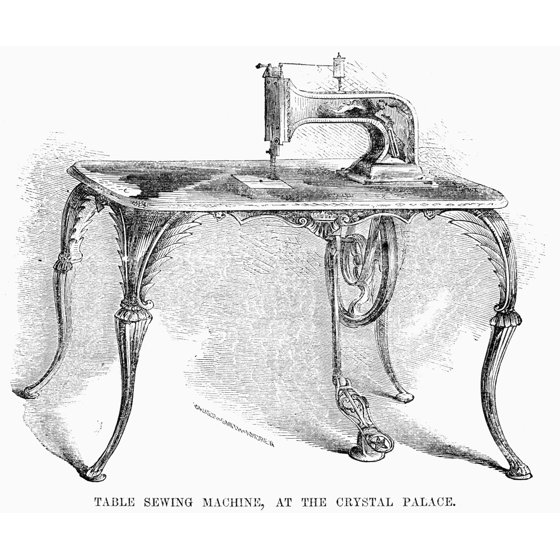 Sewing Machine 1853 Ngrove Baker And CompanyS Sewing Machine ...