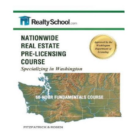 Nationwide Real Estate Pre Licensing Course  Specializing In Washington  60 Hour Fundamentals Course