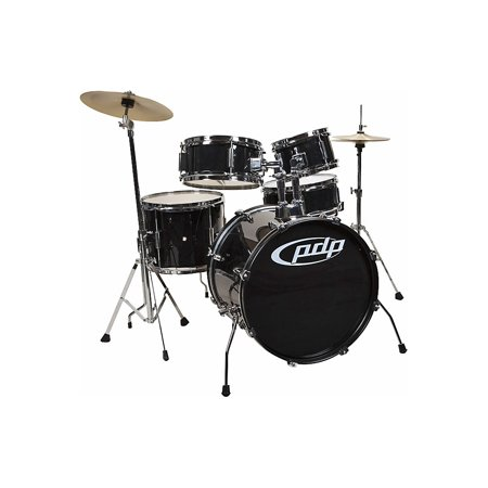 PDP by DW Player 5-Piece Junior Drum Set with Cymbals and Throne - Dw Sets Drum Thrones