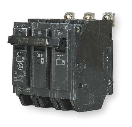 GENERAL ELECTRIC Bolt On Circuit Breaker,20A,3 Pole,THQB THQB32020
