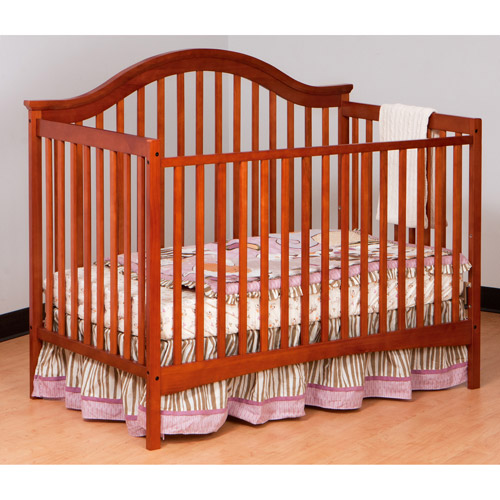 Storkcraft Ravena 2-in-1 Fixed-Side Convertible Crib, (Choose Your Finish)