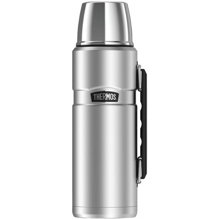 Thermos Stainless King Vacuum-Insulated Beverage Bottle, 40 oz, Stainless - Vacuum Beverage