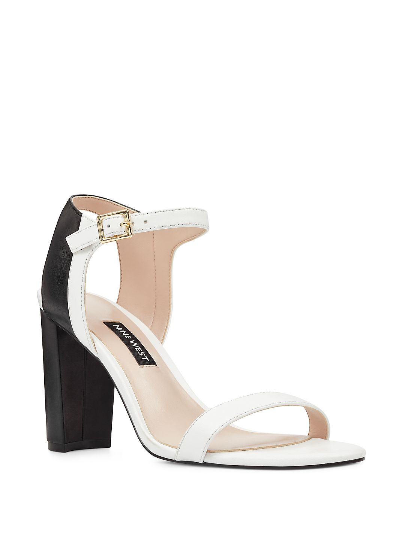 Nemble Leather Ankle-Strap Sandals
