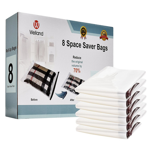 Welland LLC 8 Piece Space Saver Travel Bag Set