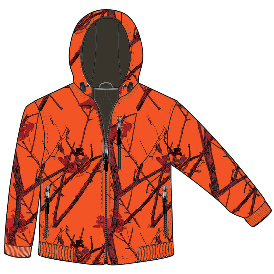 Gamehide Deer Camp Youth Jacket, Woodlot Blaze
