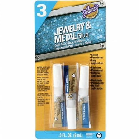 Aleene's Jewelry & Metal Adhesive Glue, 3 Count](Aleene's Glue)