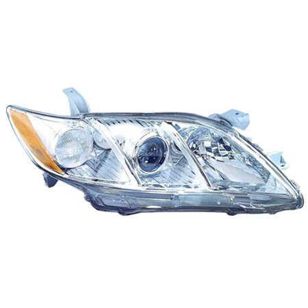 2007-2009 Toyota Camry  Aftermarket Passenger Side Front Head Lamp Lens and Housing 8113033652-V (Toyota Camry Lamp)