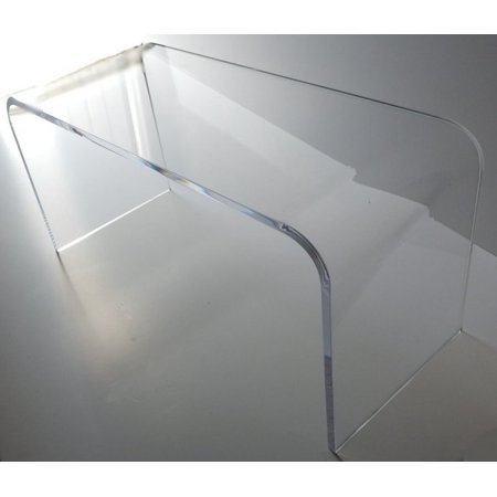 Acrylic Coffee Cocktail Waterfall Table Lucite 42 X 20 X