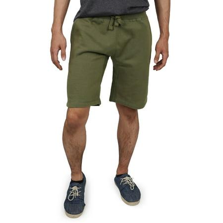 Men's Premium Classic Fit Cotton Sweat Shorts with Drawstring Classic Microfiber Shorts