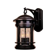 Designers Fountain-Sedona - 20 Three Light Outdoor Wall Lantern  Oil