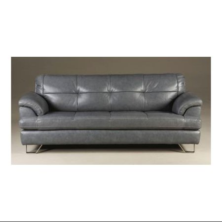 Ashley Gunter U8130638 Sofa With Tufted Back And Seat Cushions Bench Style Seating Padded Arms