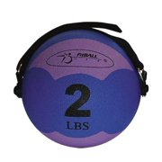 2-pound Purple FitBALL MiniMed Ball w Adjustable Strap