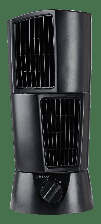 Lasko Desktop Wind Tower Oscillating Multi-Directional 2-Speed Fan, Model #T14305, Black - Walmart.com