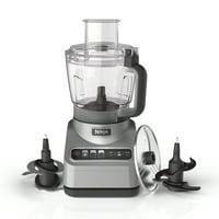 Ninja Professional Food Processor, 850 Watts, 9-Cup Capacity, Auto-iQ Preset Programs, BN600