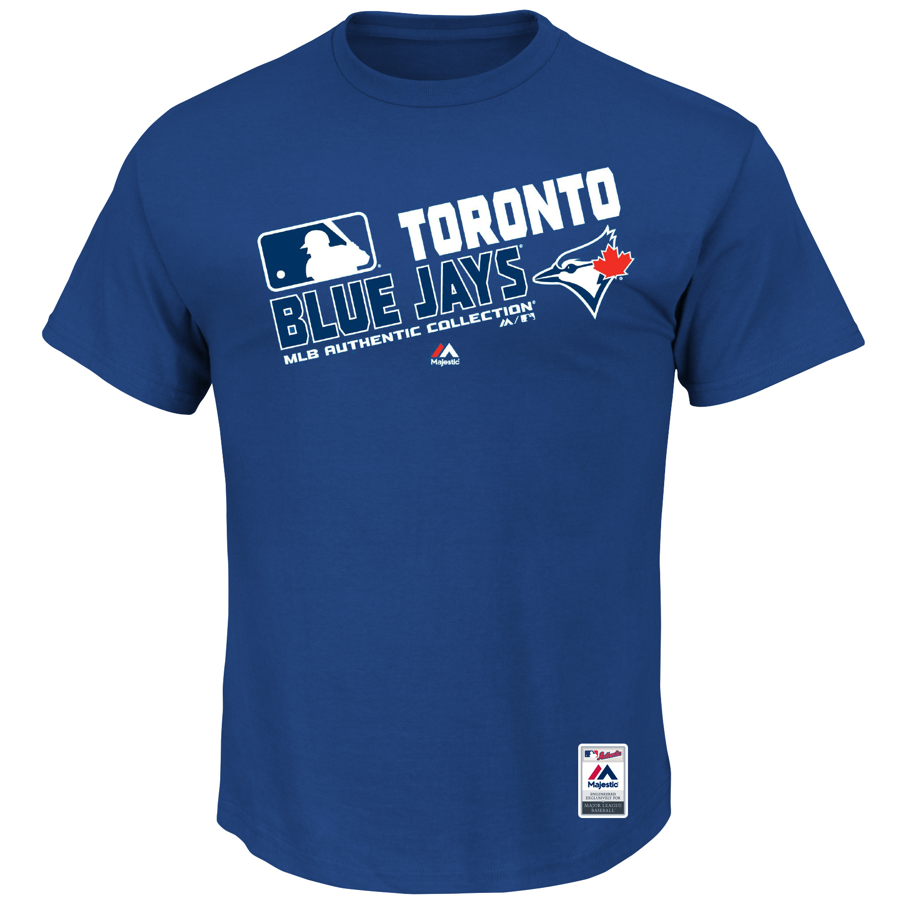 Toronto Blue Jays Majestic Team Choice T-Shirt - Royal
