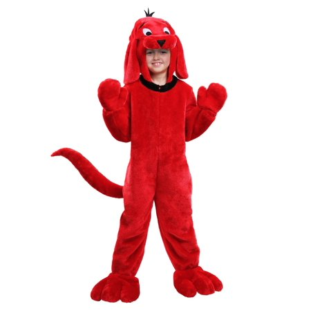 Clifford Big Red Dog Halloween Costumes (Clifford the Big Red Dog Kids)