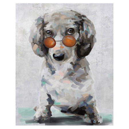 Masterpiece Art Gallery Shady Pups II Dogs In Sunglasses By Studio Arts Canvas Art Print 22