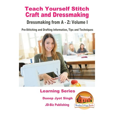 Pre Designed Half Tips - Teach Yourself Stitch Craft and Dressmaking: Dressmaking from A-Z: Volume I - Pre-Stitching and Drafting Information, Tips and Techniques - eBook