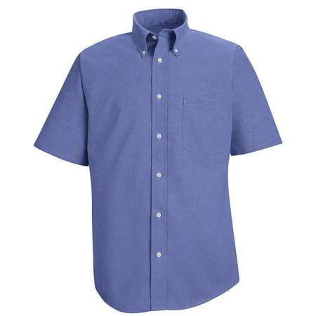 Executive Oxford Dress Shirt   Gs Grey  White Stripe   16 5