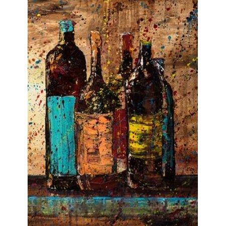 Wine Vino Wine II Stretched Canvas - Jodi Monahan (9 x 12) 12 Years Sweet Wine