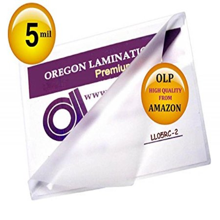 Ship From USA) Qty 200 Legal Laminating Pouches 5 Mil 9 x 14