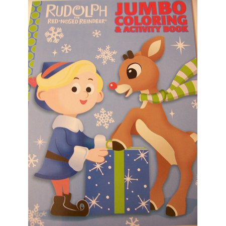 rudolph the red nosed reindeer coloring activity book hermey and