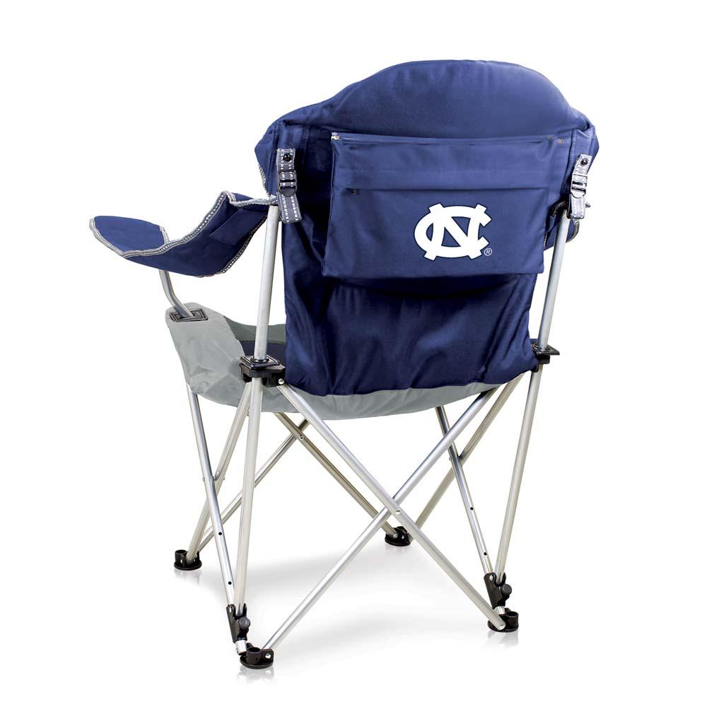 North Carolina Reclining Camp Chair (Navy)