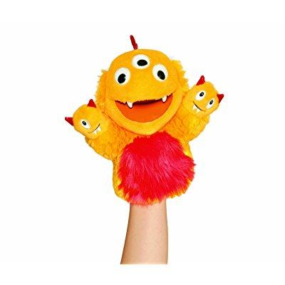 Manhattan Toy three headed hand puppet, named george by m...