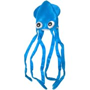 Novelty Blue Squid With Long Tentacles Party Hat Cap Costume Accessory