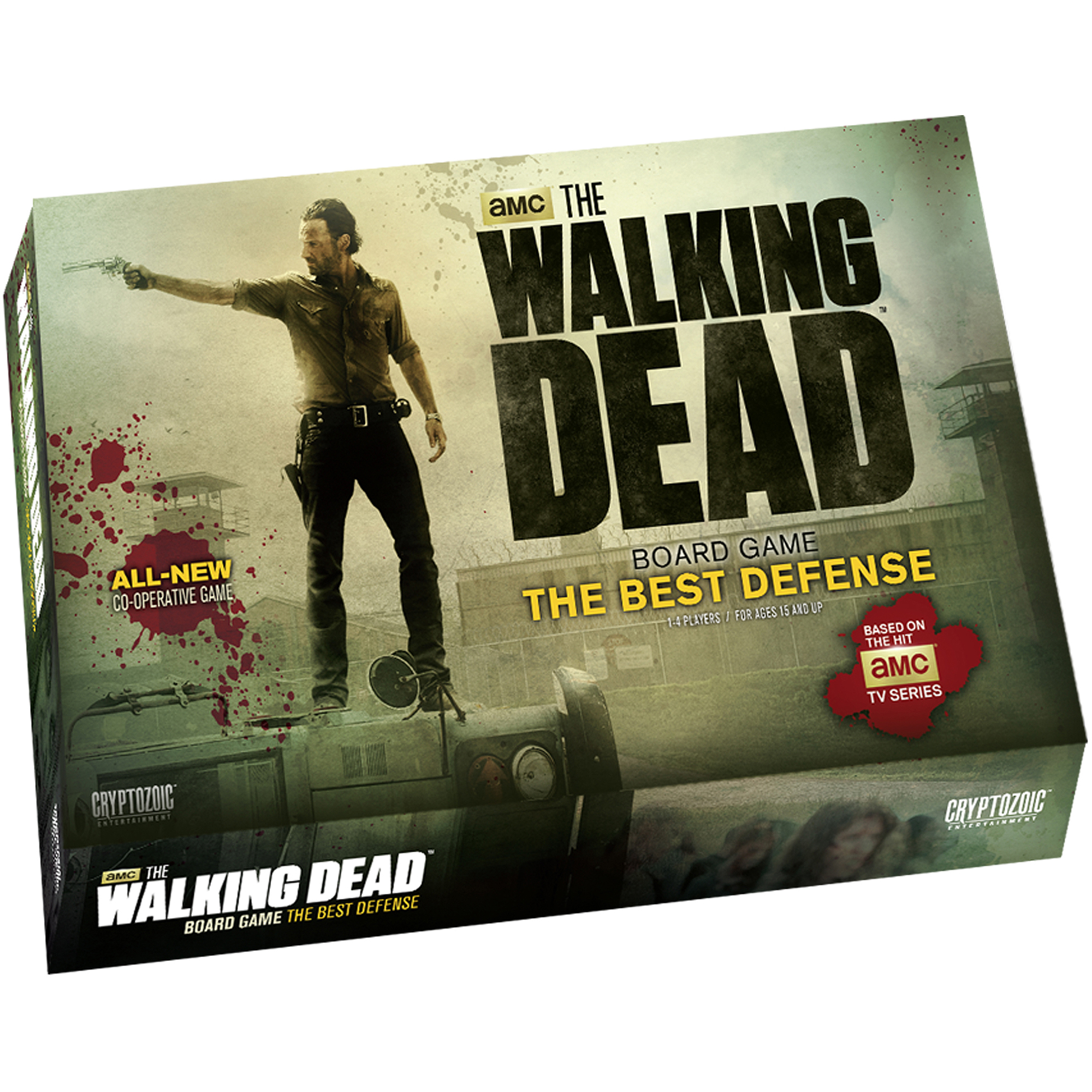 Cryptozoic The Walking Dead Board Game The Best Defense by Cryptozoic