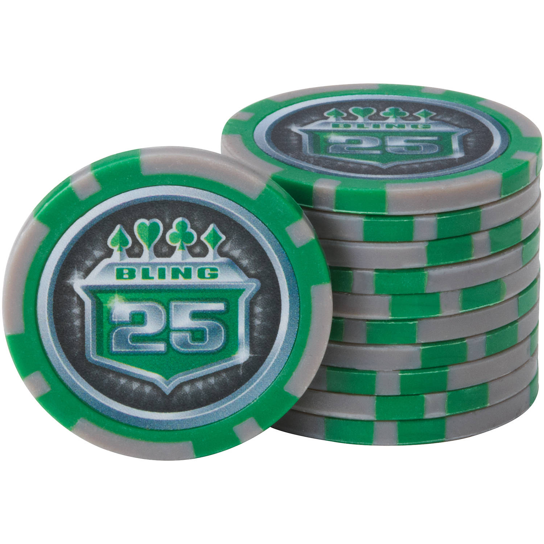 Fat Cat Bling 13.5 Gram Poker Chip Set, 500ct   Walmart.com