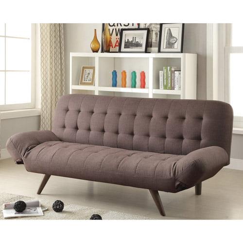 Coaster Home Furnishings Sofa Bed, Mink Grey