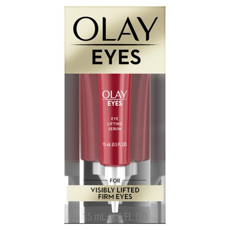 Olay Eyes Eye Lifting Serum for visibly lifted firm eyes, 0.5 fl (Best Eye Serum For Crows Feets)