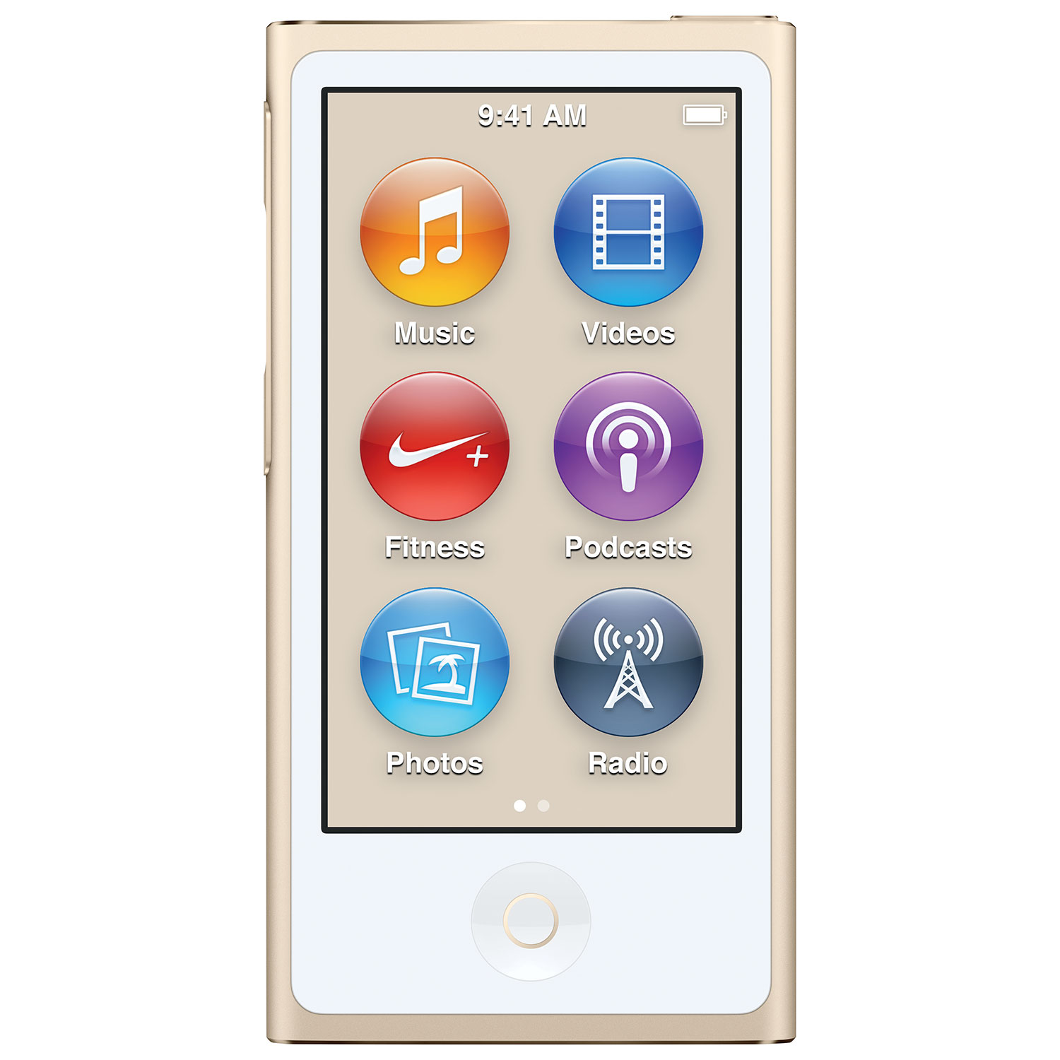 Apple Ipod Nano 7th Generation 16gb Gold Like In Original Retail Touch 6 Box