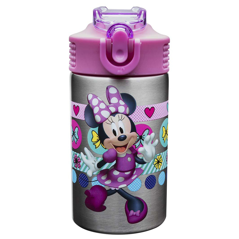 Disney Minnie Mouse & Daisy Duck Water Bottles 15 oz.