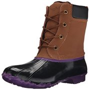 Western Chief Womens Four Eye Duck Waterproof Pac Snow Boots