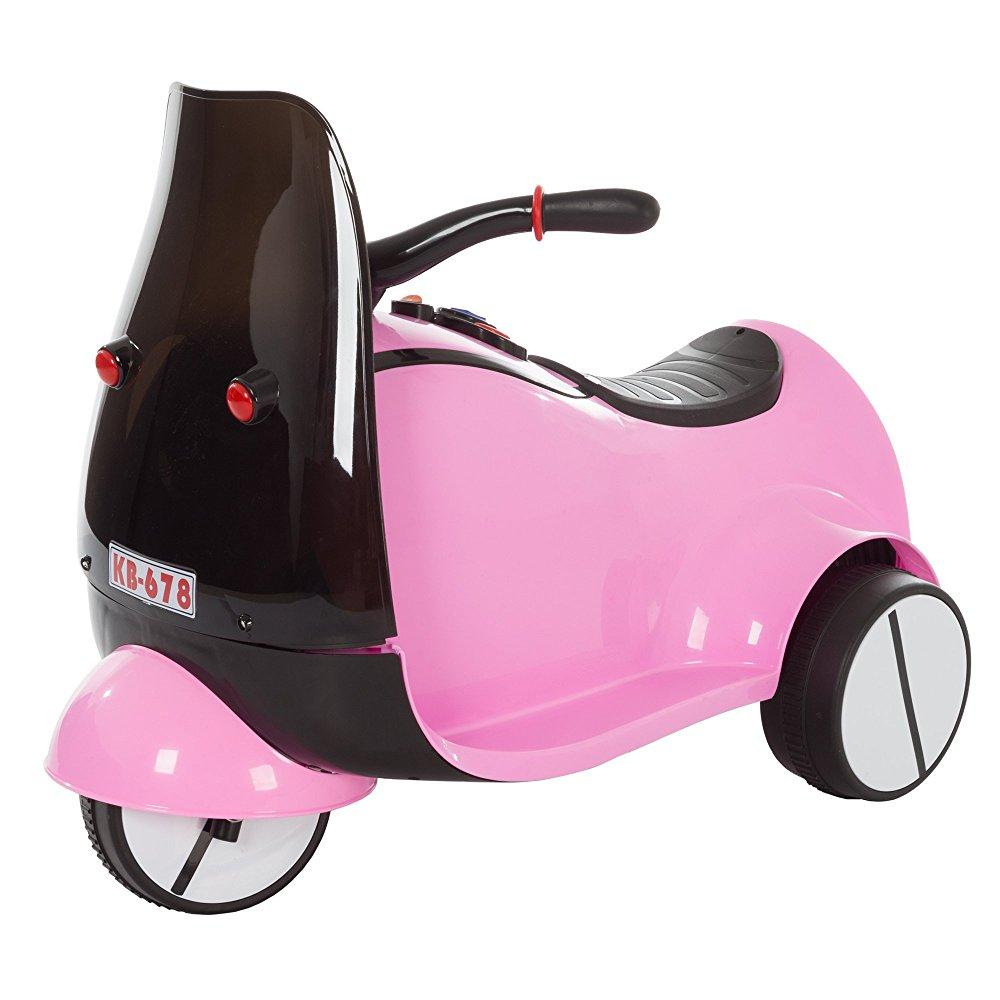 Ride on Toy, 3 Wheel Motorcycle Euro Trike for Kids by Lil' Rider Battery Powered Ride-on... by