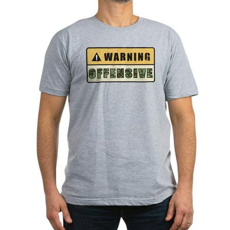 1ca00363 CafePress - CafePress - Warning Offensive Men's Fitted T Shirt (Dark) -  Men's Fitted T-Shirt - Walmart.com