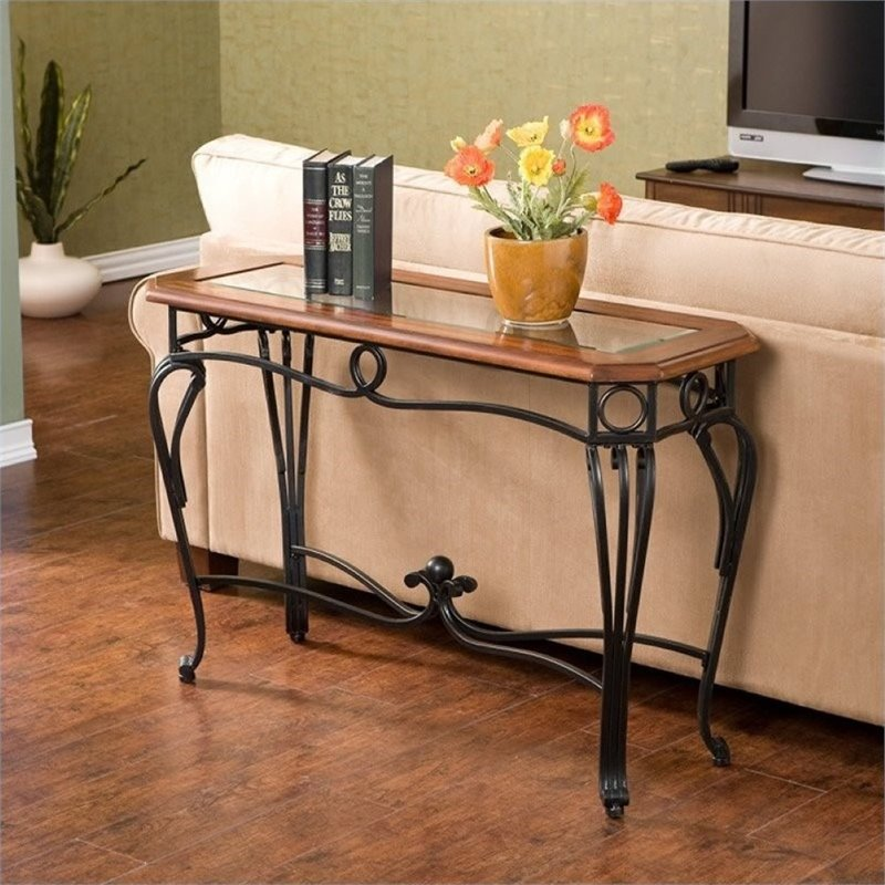 Pemberly Row Prentice Sofa Table