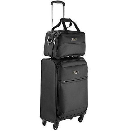 Cabin Max Copenhagen Business Hand Luggage Set   Trolley Suitcase 55X40x20cm