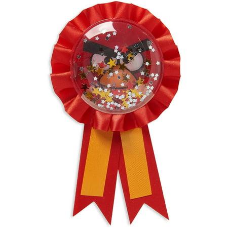 Angry Birds Birthday Party Award Ribbon, 6